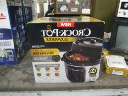 crock pot 10qt digital multi cooker stainless