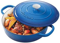 Crock Pot 111999.02 Artisan 5 Quart Enameled Cast Iron Brais