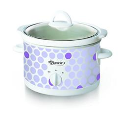 Crock Pot 2-1/2-Quart Slow Cooker, Polka Dot Pattern SCR250-