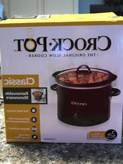 Crock*Pot* 2- Quart Round Manual Slow Cooker  Scr200-B
