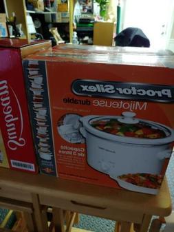 Crock Pot 3 Qt Round Slow Cooker