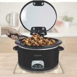 Crock-Pot 4.5 Quart Hinged Lid Programmable Slow Cooker