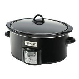 Crock-Pot 4 Quart Digital Count Down Food Slow Cooker, Black