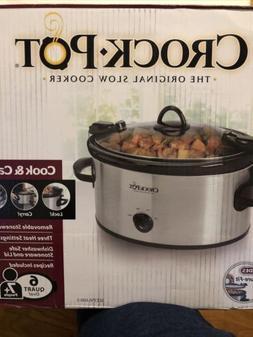 Crock-Pot 4 quarts Cook & Carry 6-Quart Oval Portable Manual