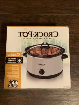 Crock pot 5 Qt the original slow cooker