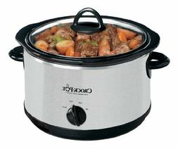 CROCK POT 5-QUART SLOW COOKER w/ BONUS DIPPER -NEW