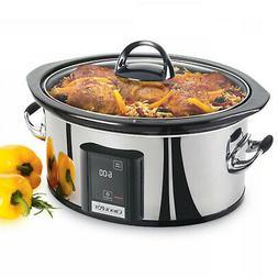 Crock-Pot 6.5-Quart Slow Cooker with eLume Touchscreen