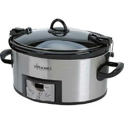 crock pot 6 qt programmable cook