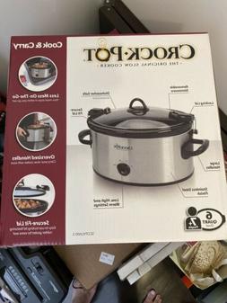 Crock-Pot, 6 Quart Cook and Carry The Original Slow Cooker N