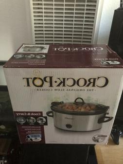 Crock Pot SCCPVL600-S 6 Qt Cook & Carry Slow Cooker