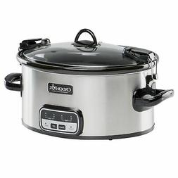 Crock-Pot 6-Quart Cook and Carry Slow Cooker with Little Dip