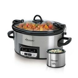 Crock-Pot 6 Quart Programmable On The GO Slow Cooker With Li