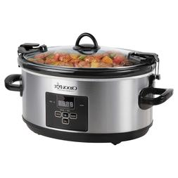 Crock-Pot 7.0-Quart Cook and Carry Programable Slow Cooker*N