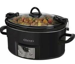 Crock Pot 7.0-Quart Cook & Carry Programmable Slow Cooker -