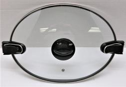 Crock-Pot 7 Qt Cook and Carry Replacement Oval Glass Lid Slo