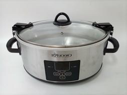 Crock-Pot 7 Quart Programmable Slow Cooker with Digital Coun