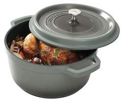 Crock Pot 79566.02 Edmound 5 Quart Cast Aluminum Dutch Oven
