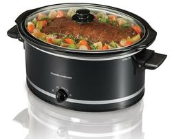 Crock-Pot 8 Quart Manual Slow Cooker Large Dishwasher-Safe K