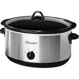 Crock-Pot 8-Quart Manual Slow Cooker Removable - Dishwasher-