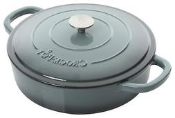 Crock Pot 112001.02 Artisan 5 Quart Enameled Cast Iron Brais