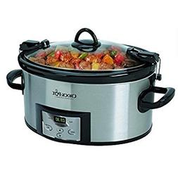 crock pot best programmable slow cooker quart digital cooker