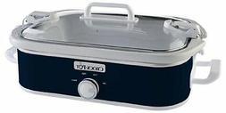 Crock-Pot Casserole Crock Slow Cooker, 3.5-Quart Multiple Co