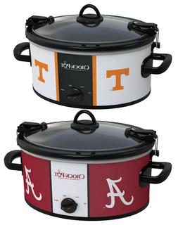 Crock-Pot Cook & Carry 6-Qt. Slow Cooker TN Volunteers/AL Cr