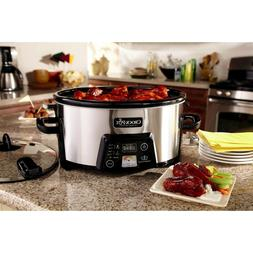 Crock-Pot Cook & Carry Digital Slow Cooker with Heat saver S