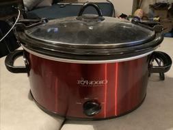 Crock-Pot Cook & Carry Manual Slow Cooker, 6-Quart