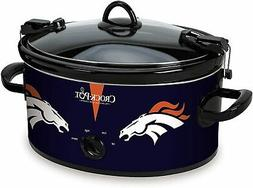 Denver Broncos NFL Crock-Pot® Cook & Carry™ 6-qt.