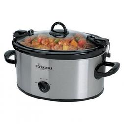 Crock-Pot Cook' N Carry Oval Manual Portable Slow Cooker, Di