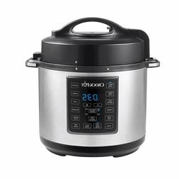 6 Qt 8-in-1 Multi-Use Express Crock Programmable Slow Cooker