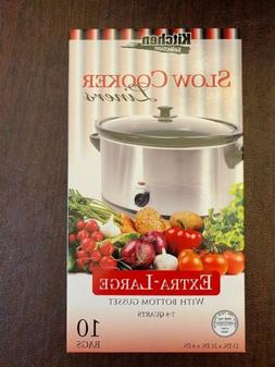 Kitchen Collection CROCK POT LINERS Slow Cooker Extra Large