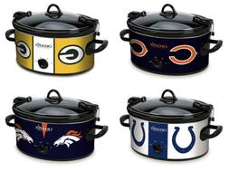 Crock-Pot NFL SCCPNFL600 Cook and Carry Slow Cooker, 6-Quart