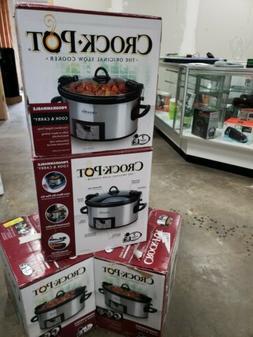 Crock-Pot Programmable Cook & Carry 7 Quart Slow Cooker