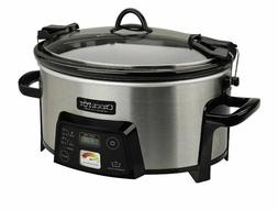 Crock-Pot Programmable Cook Carry Extra Large Slow Cooker Di