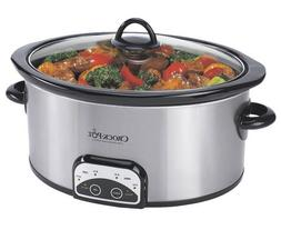 Crock-Pot Programmable Slow Cooker - 4 qt