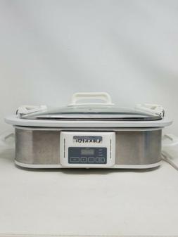 Crock-Pot SCCPCCP350-SS Programmable Digital Casserole Slow