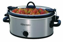 Crock-Pot SCCPVL400-S 4-Quart Cook and Carry Slow Cooker, St