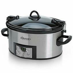 Crock-Pot SCCPVL610-S-A 6-Quart Cook & Carry Programmable Sl