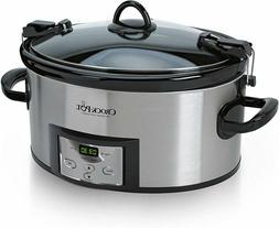 Crock Pot SCCPVL610-S-A 6 Quart Cook & Carry Programmable Sl
