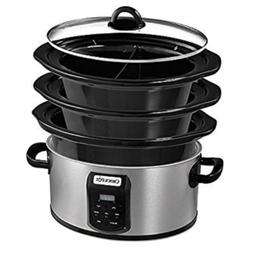 Crock-pot SCCPVS642-S Choose-A-Crock Programmable Slow Cooke