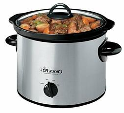 Crock Pot SCR300 SS 3 Quart Manual Slow Cooker Silver Kitche
