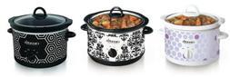 Crock Pot SCR450 4.5-Quart Slow Cooker, 3 Styles