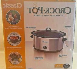 Crock-Pot SCV700SS Stainless Steel 7-quart Oval Manual Slow
