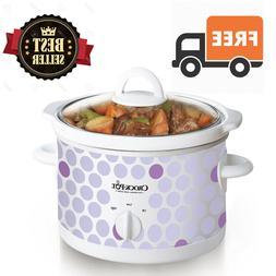 crock pot slow cooker 2 1 2