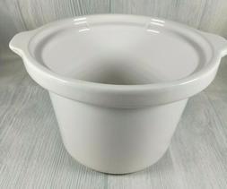 Rival Crock Pot Slow Cooker 2 Qt INSERT SCR-200 Replacement