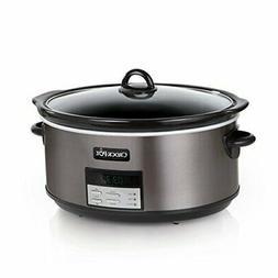 Crock Pot Slow Cooker|8 Quart Programmable Slow Cooker with