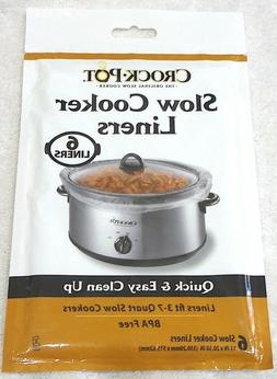 Crock Pot Slow Cooker Liners fits 3-7 Quart Slow Cookers  2