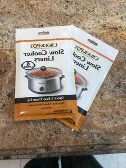 """Crock-Pot Slow Cooker Liners Soup-Chili bags  6ct 13"""" x 20.3"""